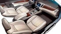 First Hyundai Equus Interior Sketch Surfaces