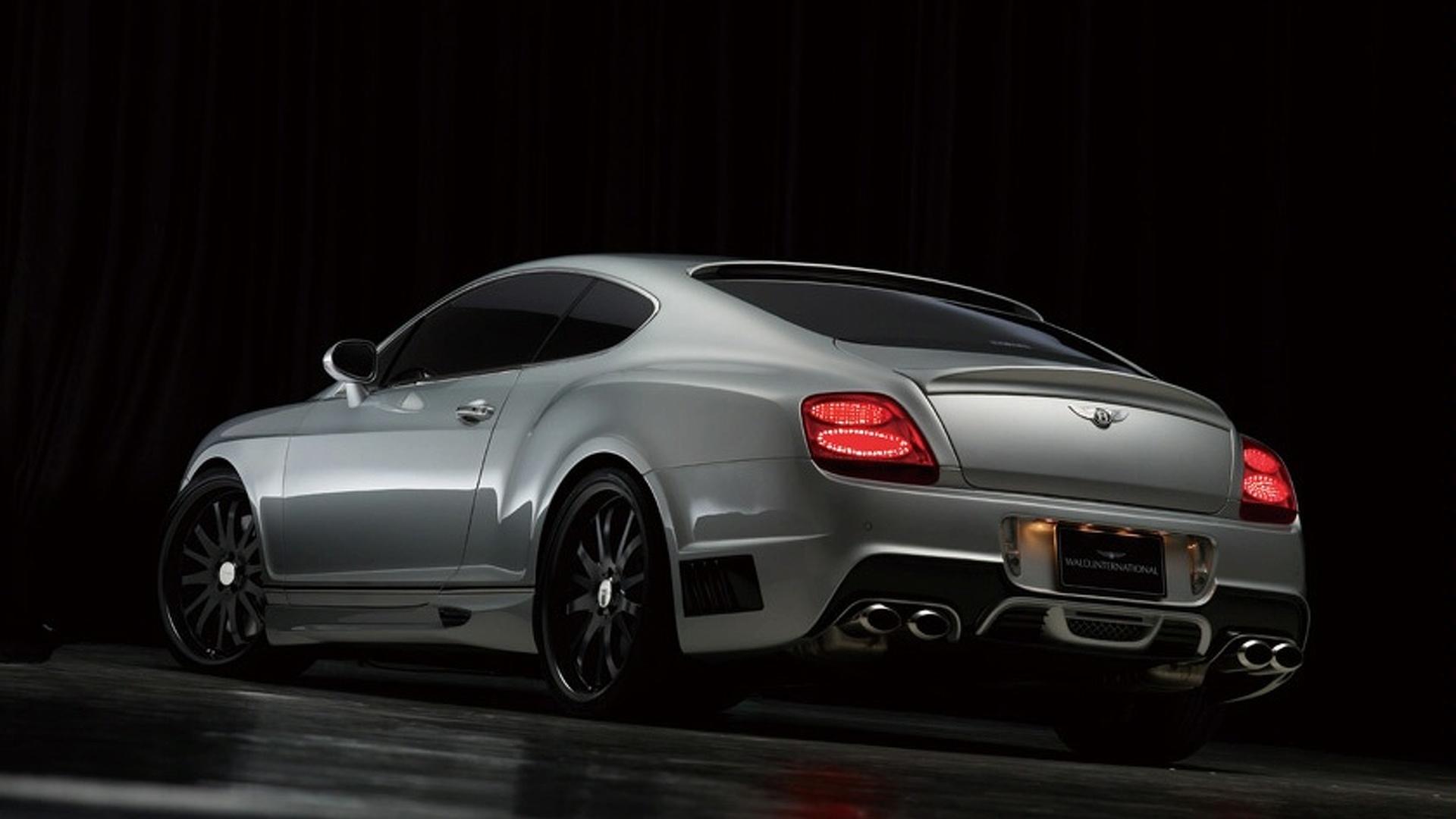 Photo Update: Wald International Bentley Continental GT Sports Line Black Bison