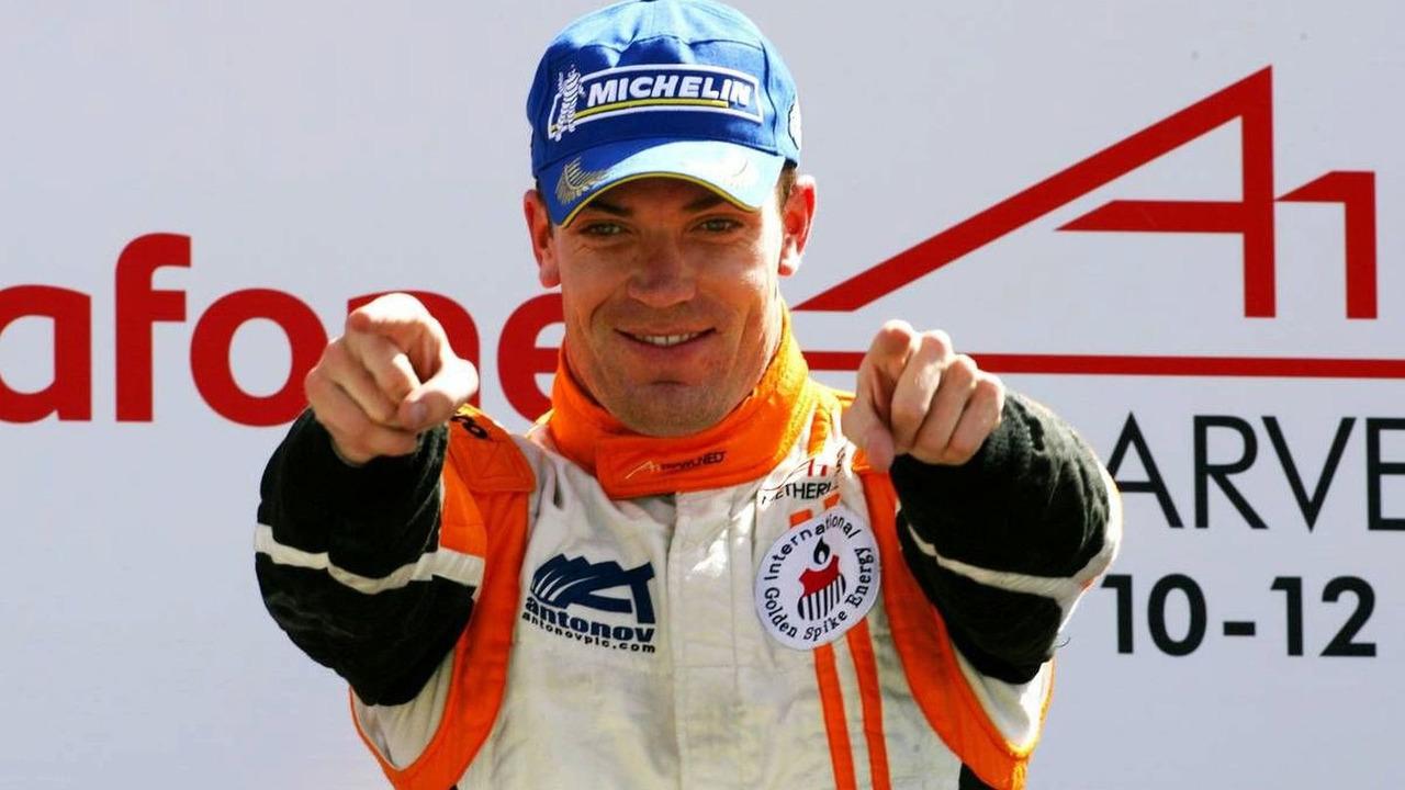 Robert Doornbos (NED), driver of A1 Team Netherlands - A1GP World Cup of Motorsport 2008/09, Algarve, 12.04.2009 Portimao, Portugal