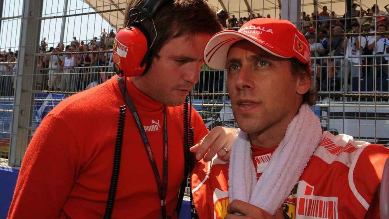 Rob Smedley and Luca Badoer - 08/23/2009