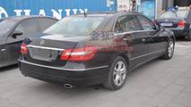 Mercedes E-Class long wheelbase spotted outside Beijing Auto Show