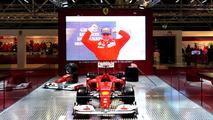 Kamui Kobayashi crashes Ferrari F1 car in Moscow [videos]