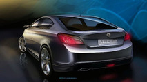 MG Rover MG6 Concept Debut in Shanghai - Based on Roewe 550