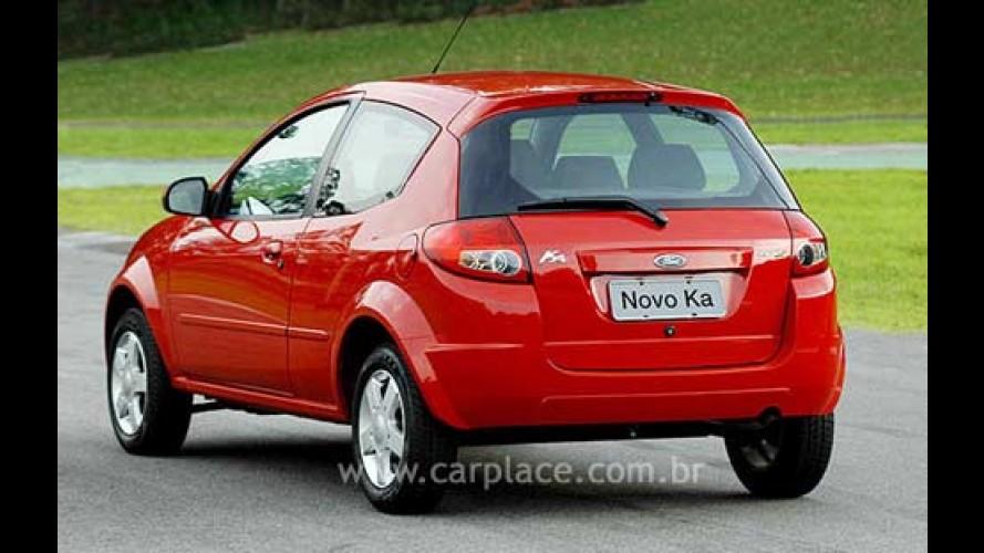 Novo Ford KA 2008/2009 é lançado oficialmente - Maior e melhor ganha motor 1.0 flex - Veja fotos