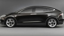 Tesla Model X production slated for early 2015, will keep the falcon wing doors