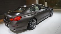 2012 BMW 6-series Gran Coupe world debut at the 2012 Geneva Motor Show