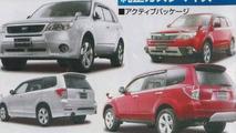 Subaru 2009 Forester magazine scans