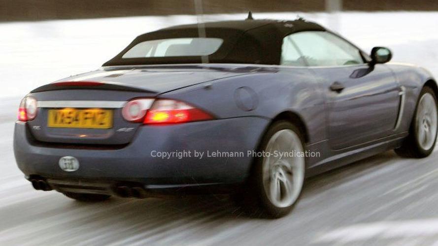 Jaguar XKR Cabrio and Coupe Spy Photos