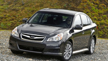 2010 Subaru Legacy sedan first images