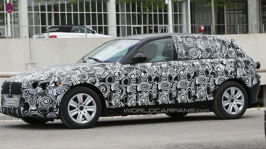 2011 BMW 1-Series Spy Video
