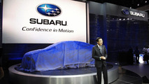Subaru Impreza Design Concept live in Los Angeles 17.11.2010