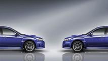 2011 Subaru WRX STI four door sedan 01.04.2010