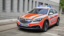 Opel unveils custom Insignia Country Tourer, Vivaro and Movano for RETTmobil 2014
