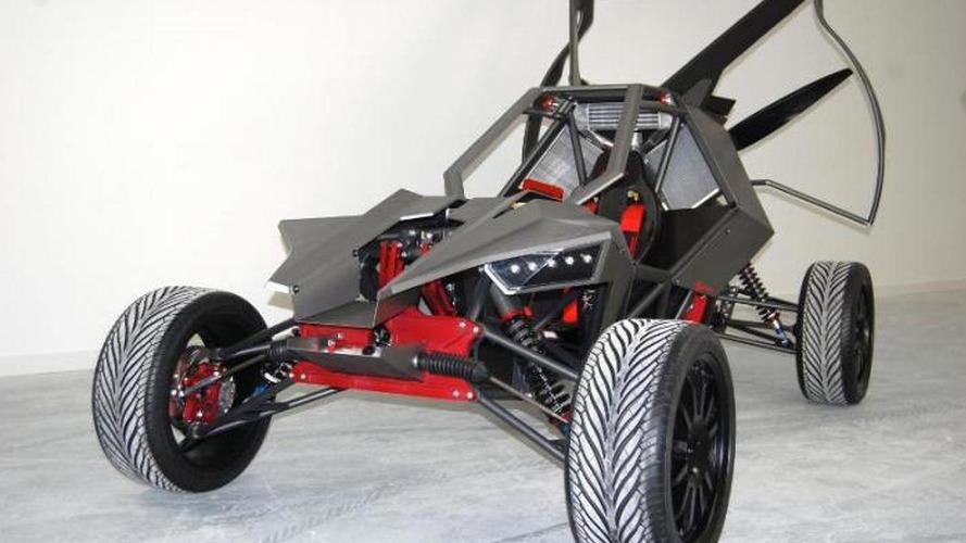 EcoBoost-powered SkyRunner all-terrain flying car revealed