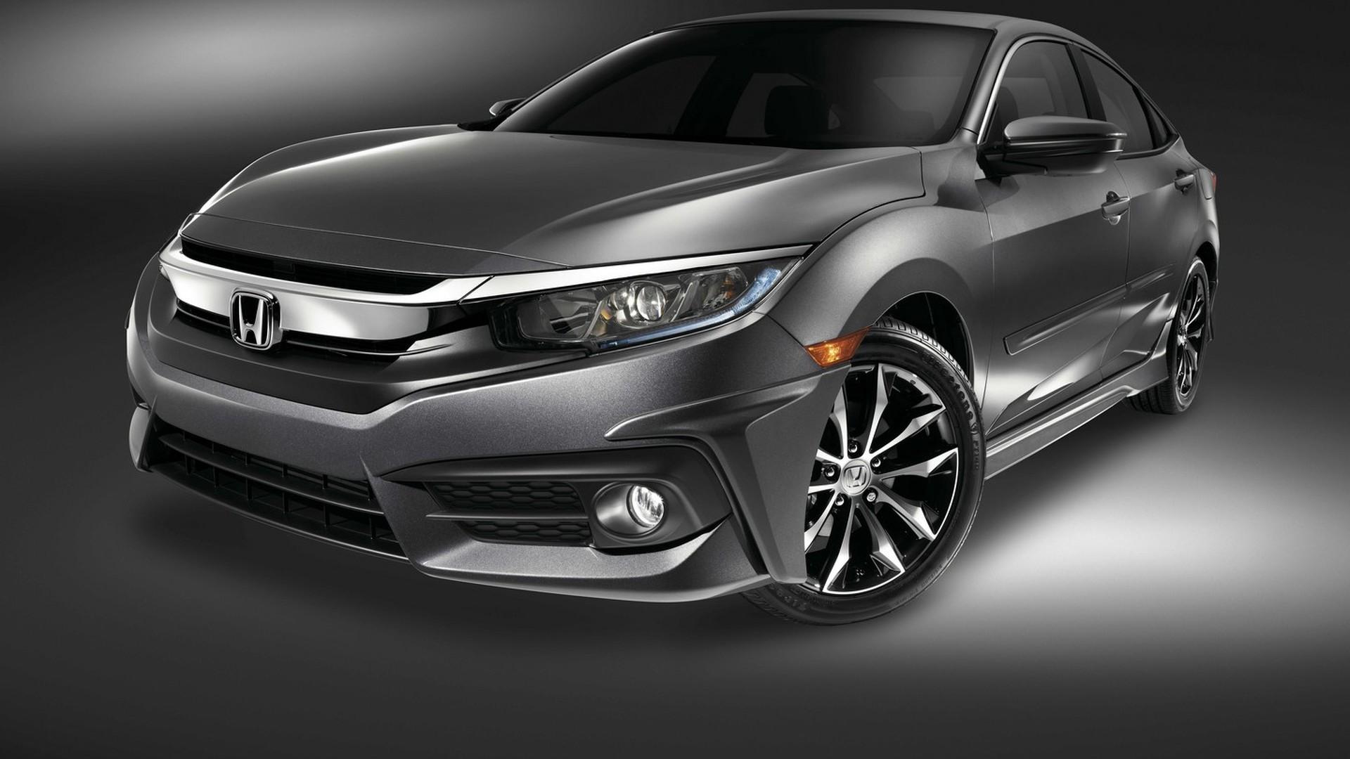 Honda brings 2016 Civic Sedan to SEMA with subtle body kit