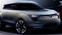 Ssangyong XIV-1 Concept CUV new photos releases