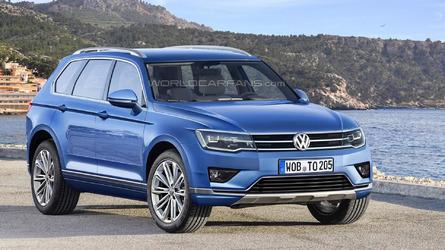 2017 Volkswagen Touareg digitally imagined