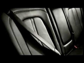 2013 Lincoln MKZ Inflatable Rear Seat Belts