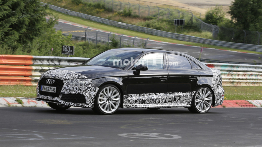 Audi RS3 Sedan to rock Paris later today with 400 hp