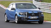2016 Mercedes-Benz A-Class facelift hides subtle cosmetic tweaks in latest spy photos