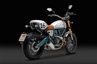 Beautiful Ducati Scrambler Custom Honors One of Racing's Best