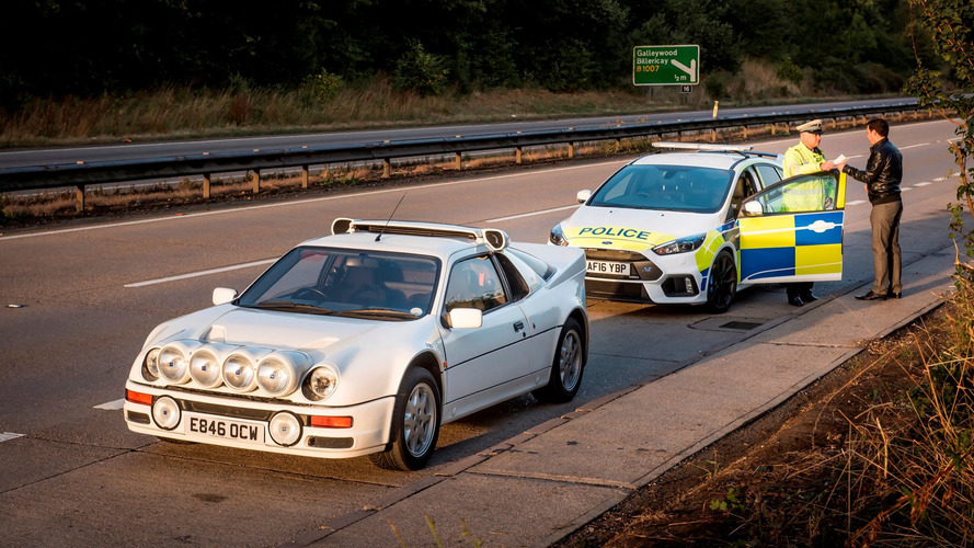 UK police try Focus RS, 30 years after RS200