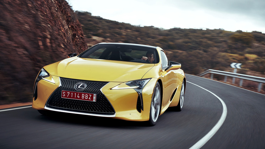Toyota trademark hints at hardcore Lexus LC F under consideration