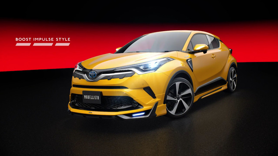Eye-searing Toyota C-HR Modellista body kits ready for Japan