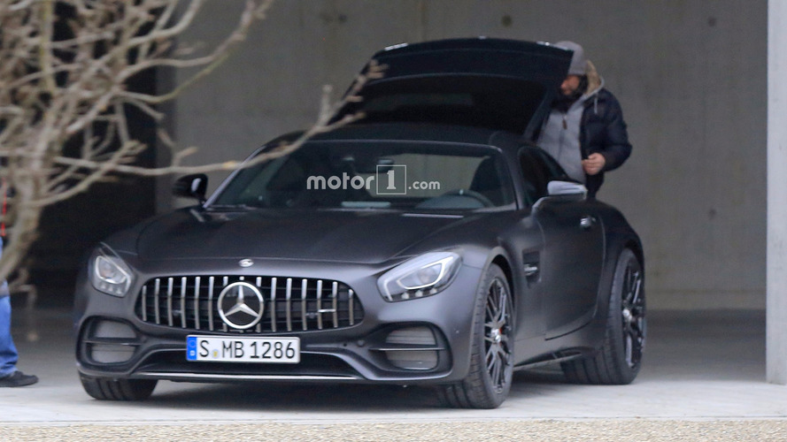 Mercedes-AMG GT C Coupe Edition 50 spy photos