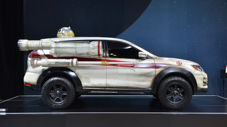 6 reasons why the Nissan Rogue makes a poor X-Wing