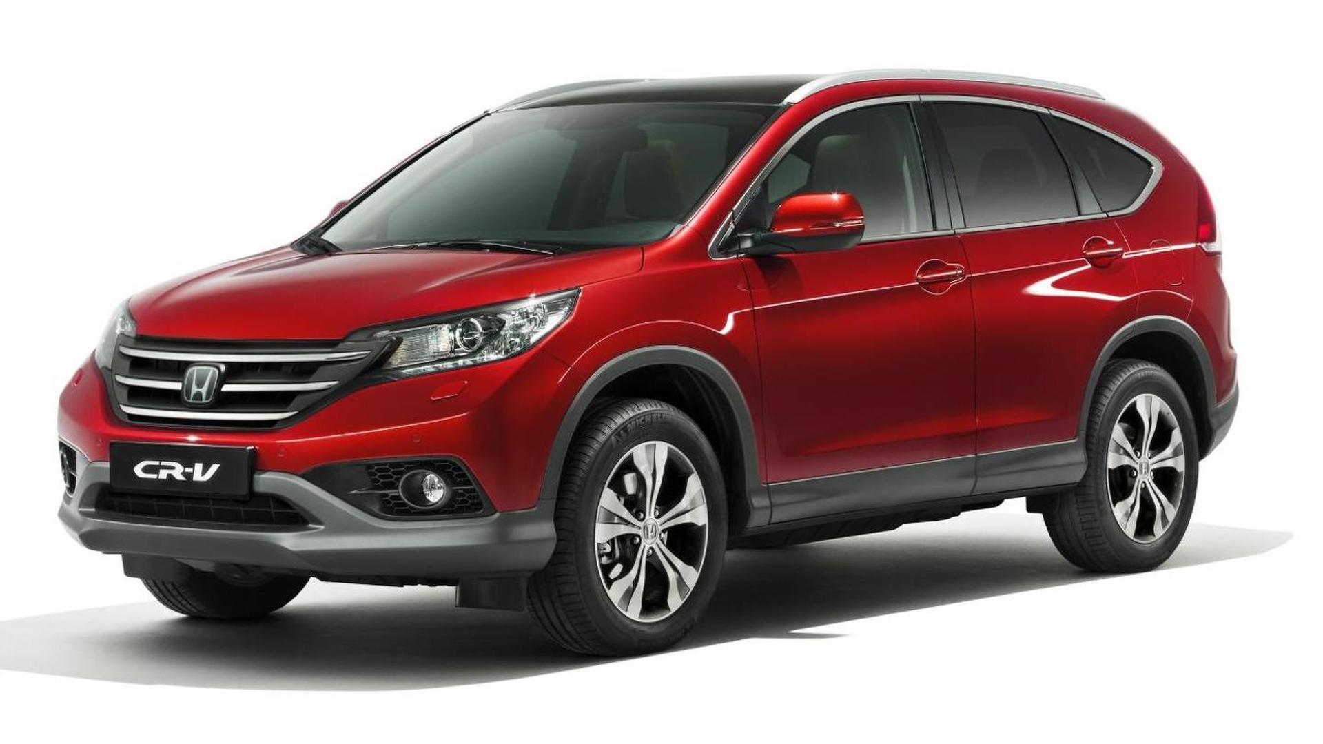 New 2013 Honda CR-V unveiled