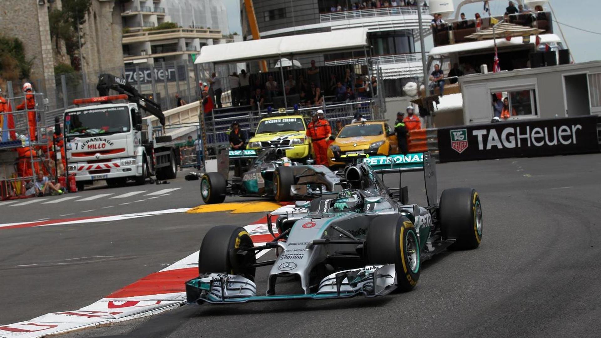 Mercedes driver tension still simmering