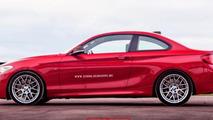 2016 BMW M2 render