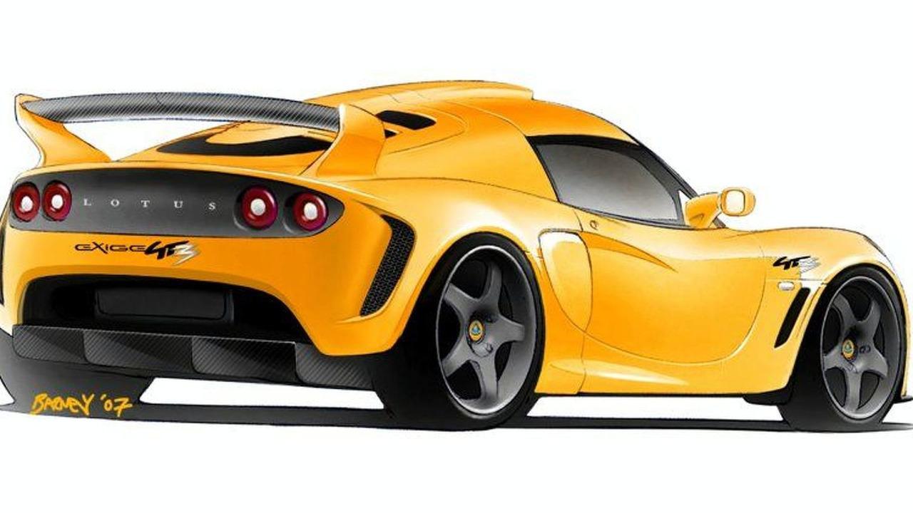 Lotus Exige GT3 Concept Road Vehicle