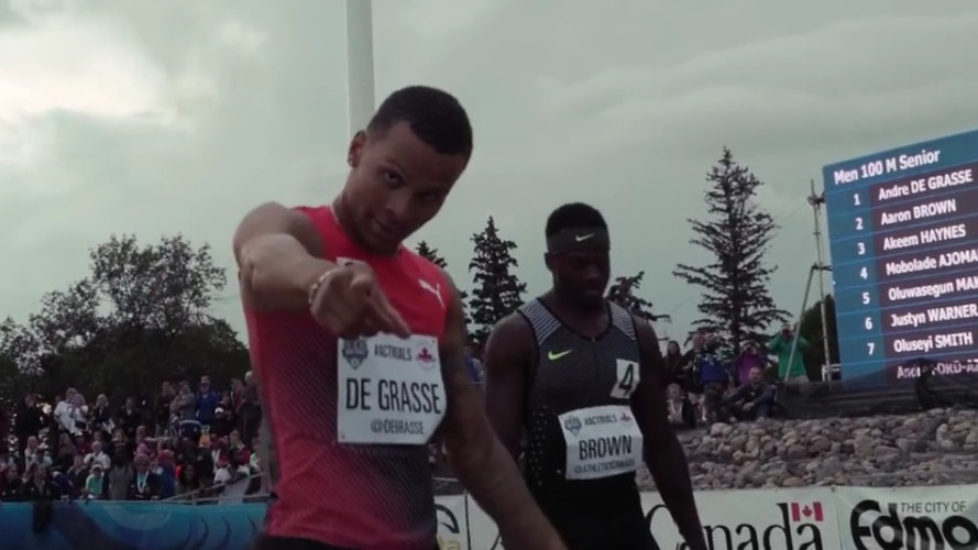 De Grasse's Olympic 100m bronze medal needs a worthy ride