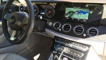 2016 Mercedes E-Class base model shows analog dials, smaller screen