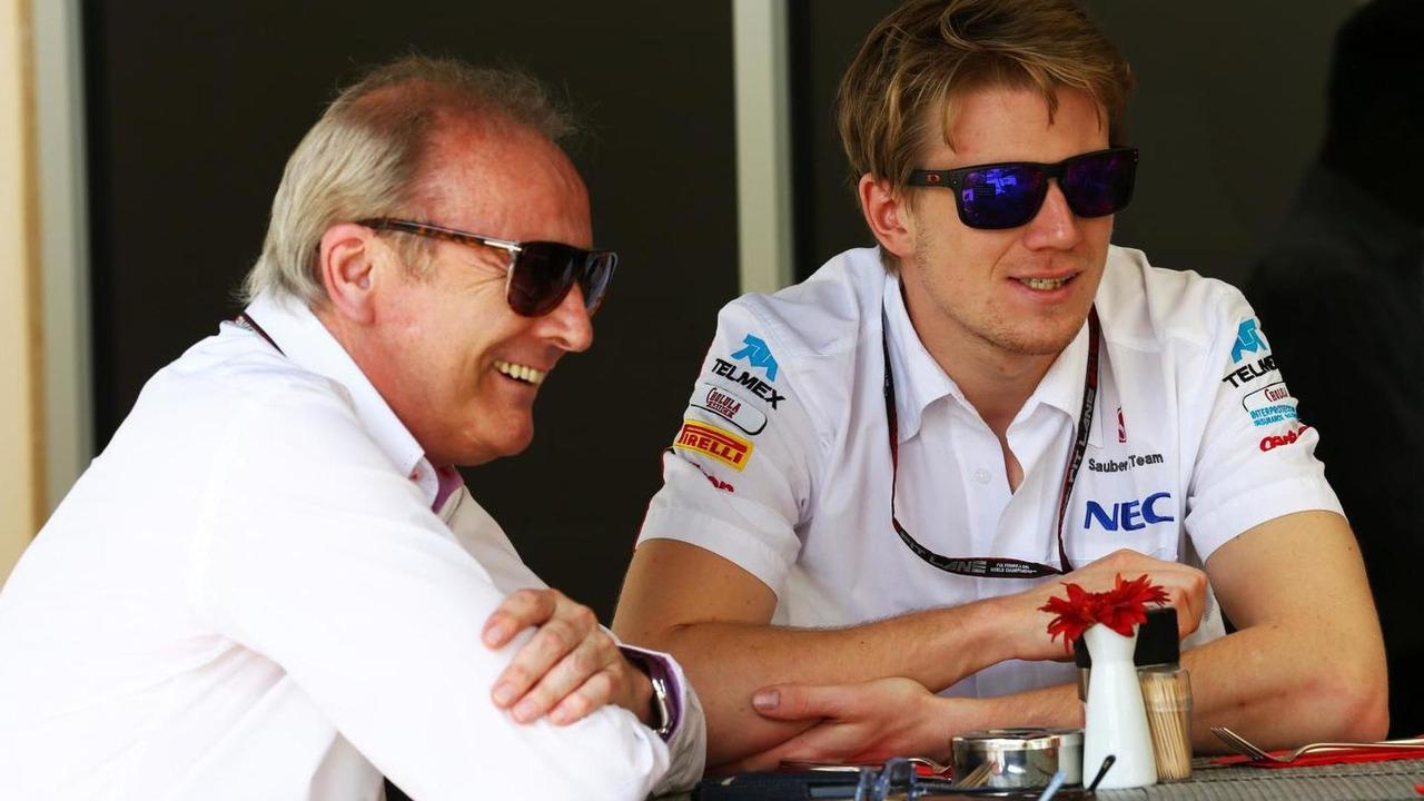 Nico Hulkenberg with Werner Heinz 21.04.2013 Bahrain Grand Prix