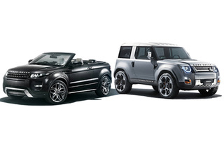 Future Rides: Land Rover Evoque Convertible and DC100
