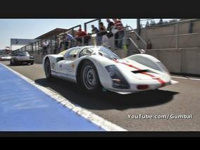 Porsche 906 Carrera 6 brutal sound!! 1/50 ever made!! 1080p HD
