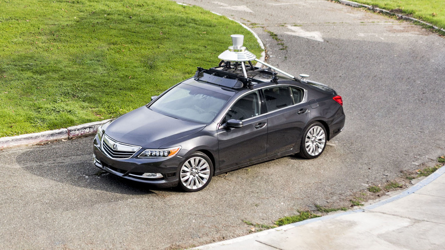 Acura RLX Autonomous Prototypes