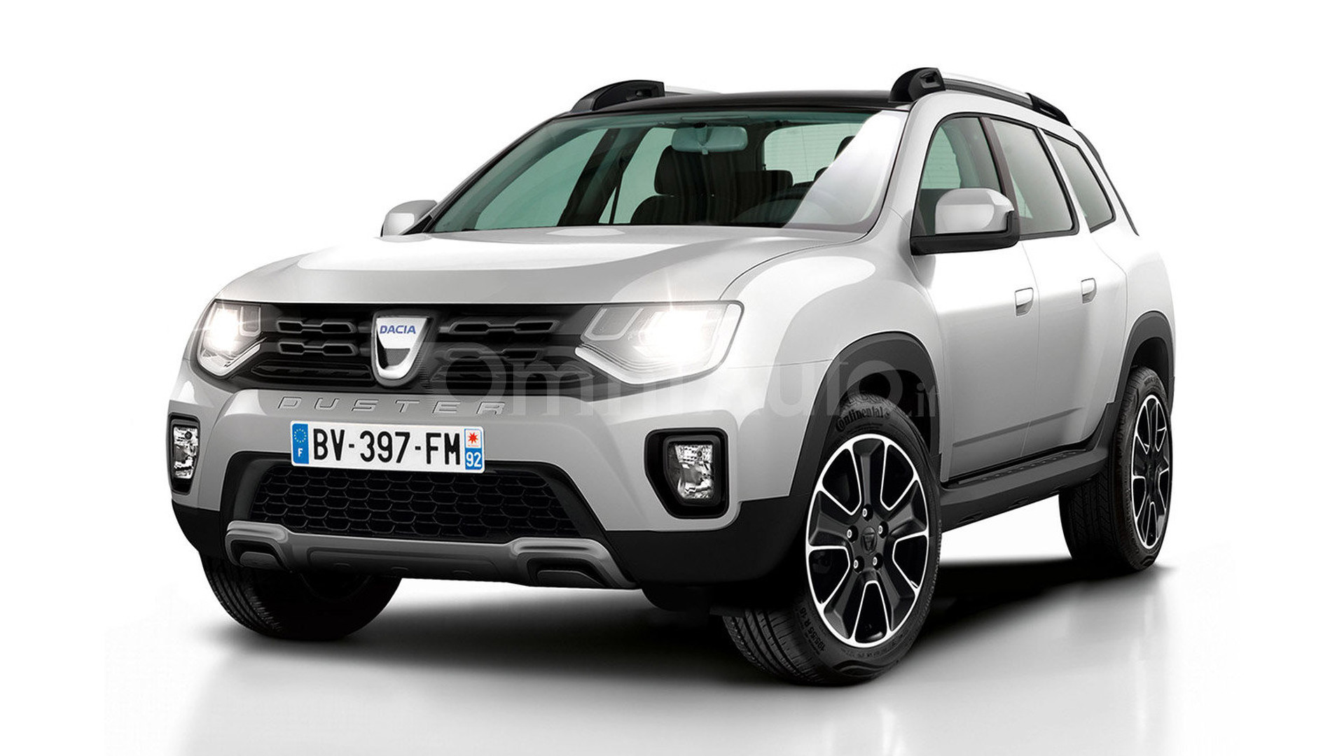 2017 dacia duster gets rendered. Black Bedroom Furniture Sets. Home Design Ideas