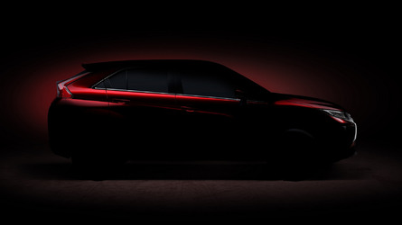 Mitsubishi compact SUV teased for Geneva
