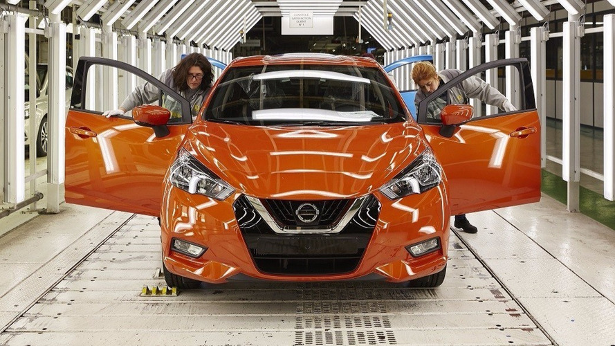 Nissan Micra - Coup d'envoi de la production en France !