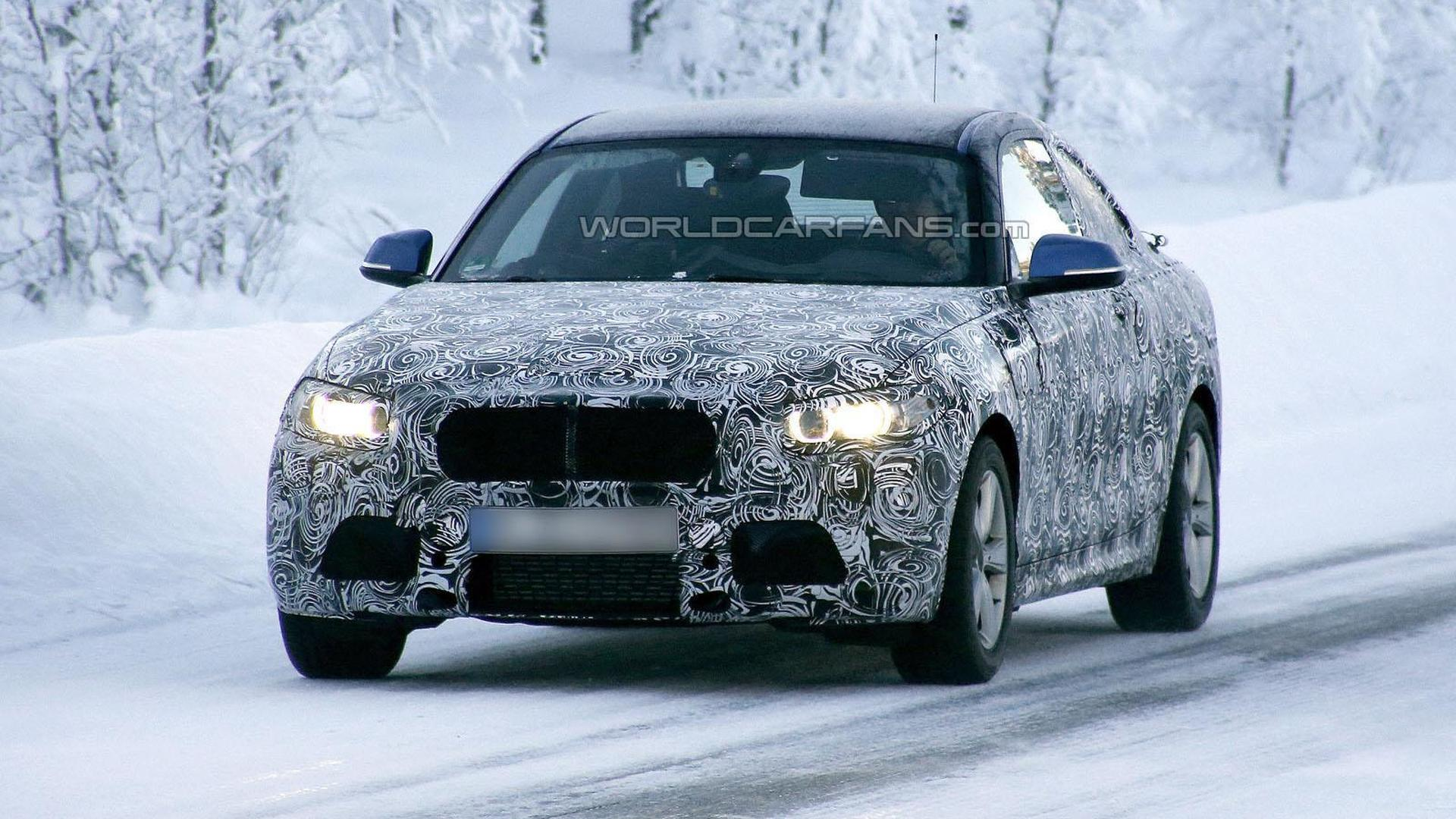 BMW 2-Series Coupe spy video