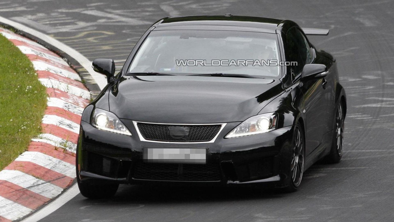 2014 Lexus IS prototype / IS F Convertible 17.7.2012