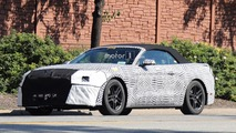 2018 Ford Mustang Convertible spy photo