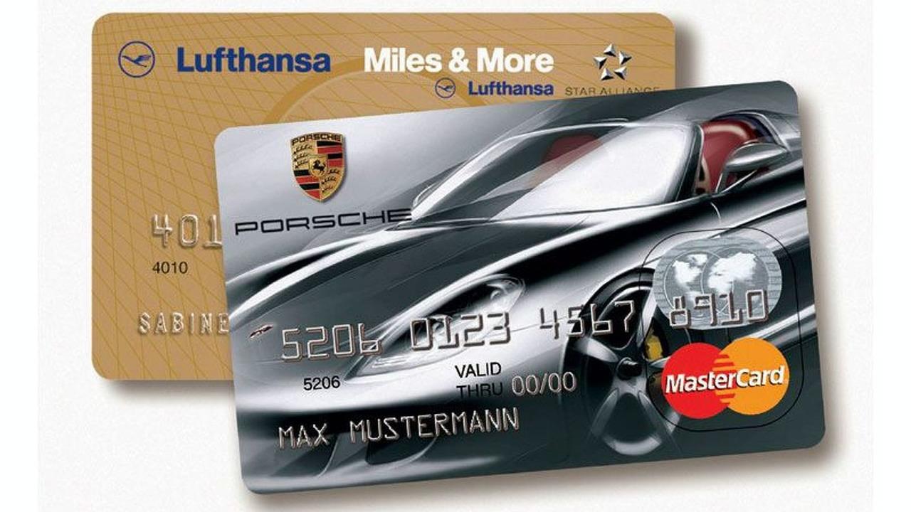 Porsche-Kreditkarten