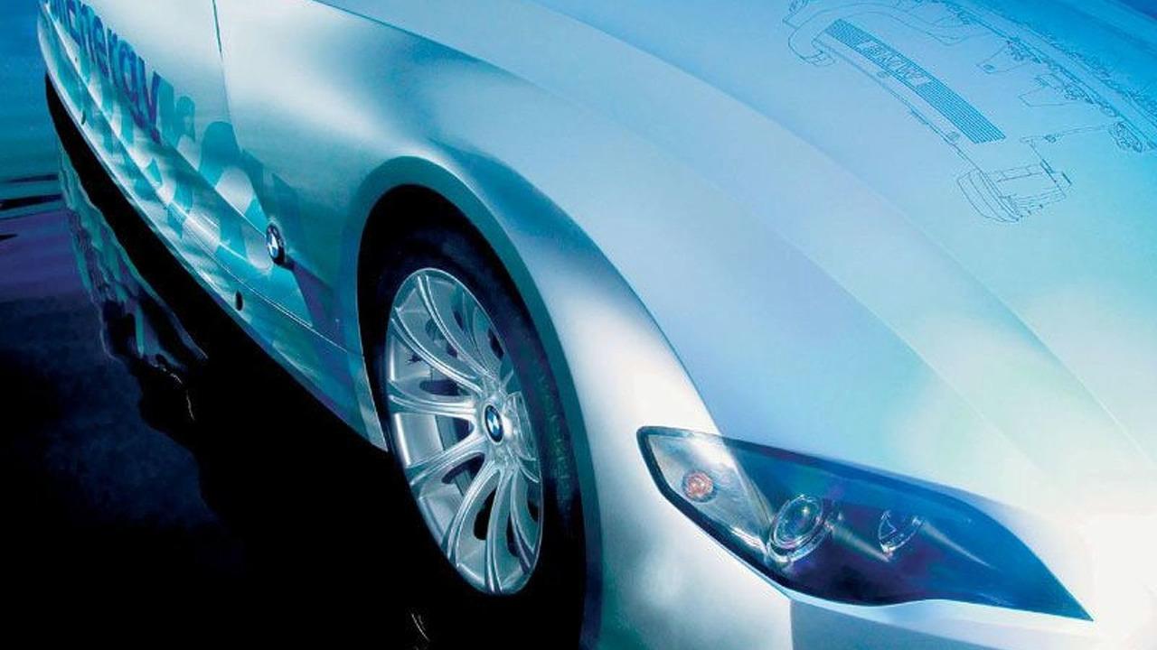 BMW H2R hydrogen vehicle