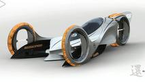 L.A. Auto Show Design Challenge Entries - Japanese & American Automakers