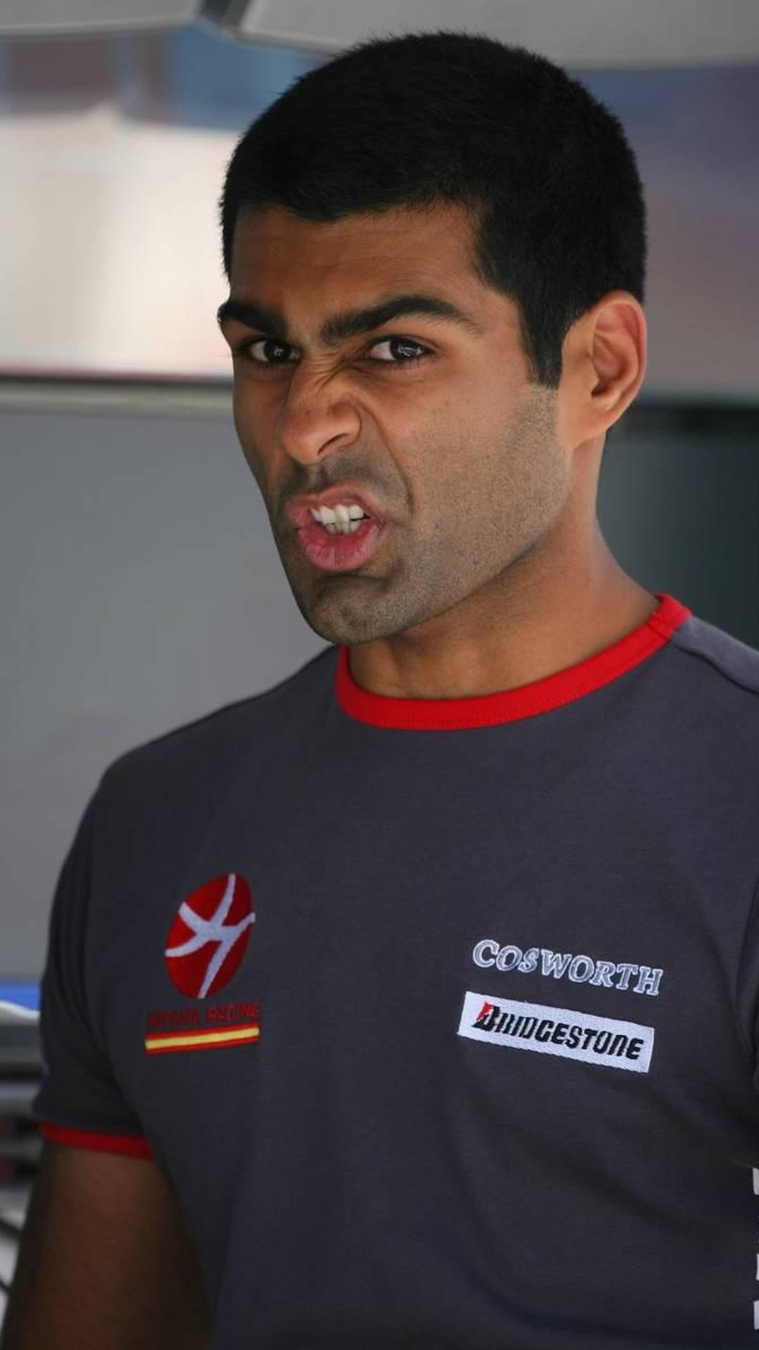Monza could be Chandhok's last race with HRT - report